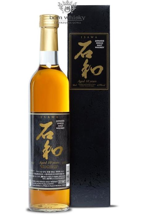 Isawa 10 letni Single Malt Whisky / 43% / 0,5l