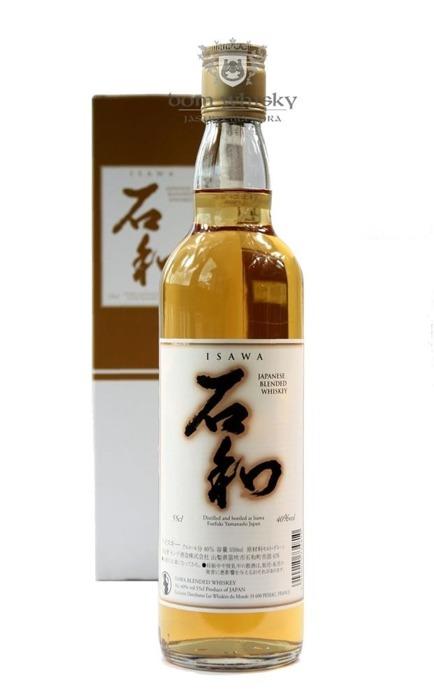 Isawa Blended Whisky / 40% / 0,55l