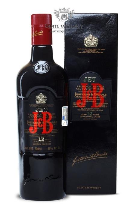 J&B Jet 12 letni / 40% / 0,7l
