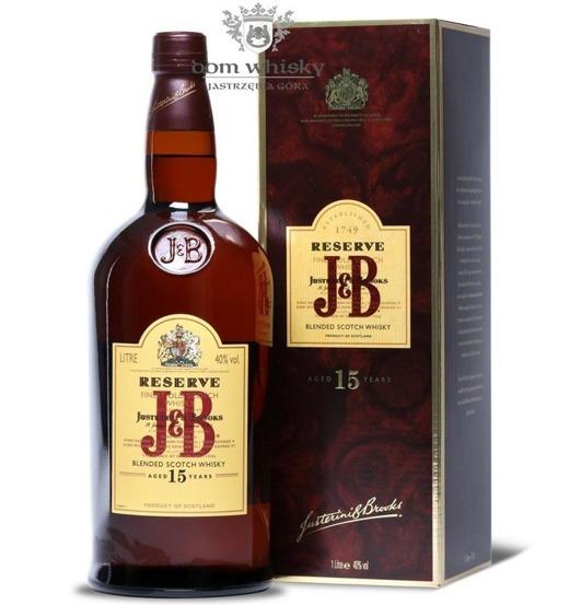 J&B Reserve 15-letni / 40% / 1,0l
