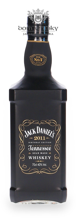Jack Daniel's 2011 Birthday / 40% / 0,7l