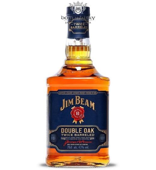 Jim Beam Double Oak (Bez opakowania) / 43% / 0,7l