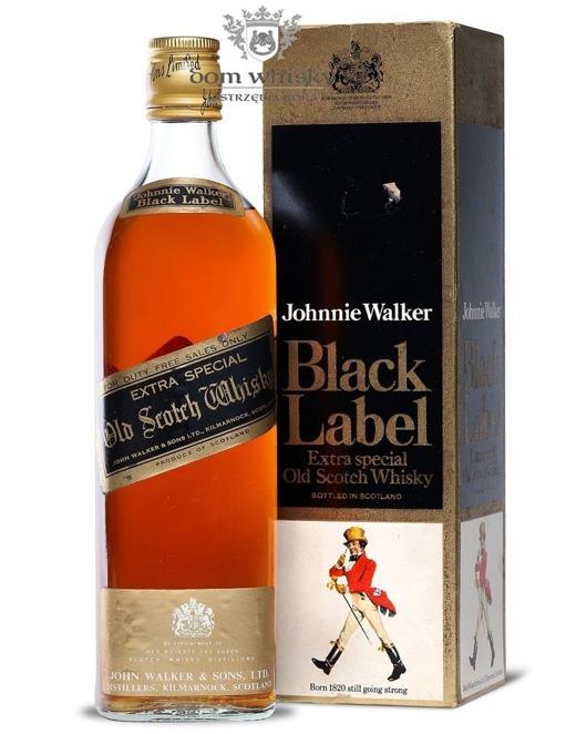 Johnnie Walker Black Label Special Duty Free /Kartonik/ 40%/0,7l