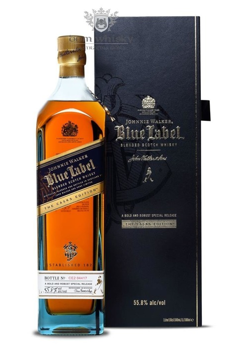 Johnnie Walker Blue Label Cask Edition / 55,8% / 1,0l