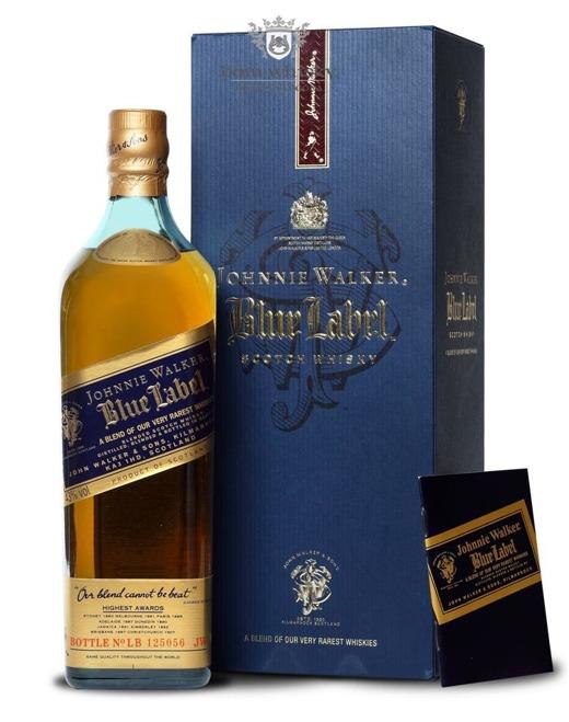 Johnnie Walker Blue Label Review No LB 125056 / 43% / 0,75l