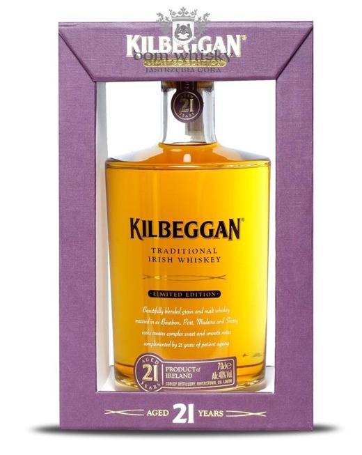 Kilbeggan 21 letni Limited Edition / 40% / 0,7l