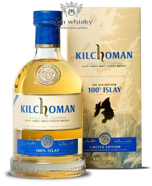 Kilchoman 100% Islay, the 4th Edition /50%/0,7l
