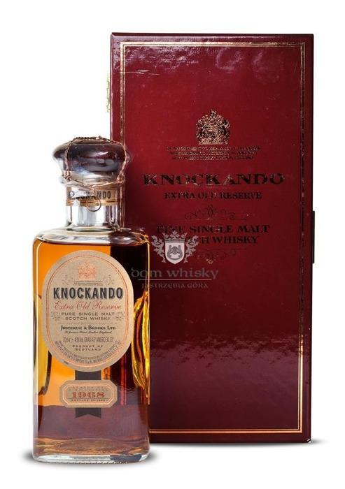 Knockando 1968 Extra Old Reserve (Bottled 1992) /43%/0,7l