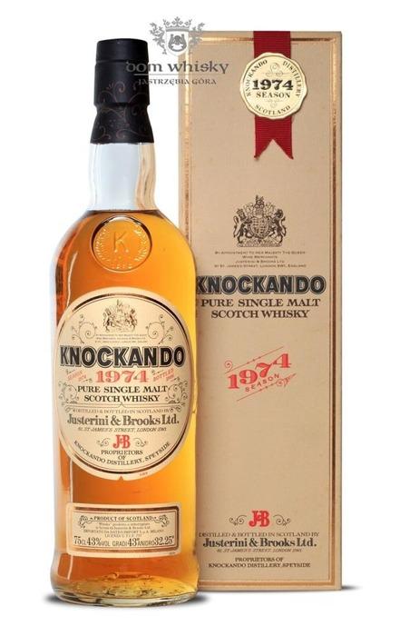 Knockando 1974 Season (Bottled 1986) /43%/ 0,75l