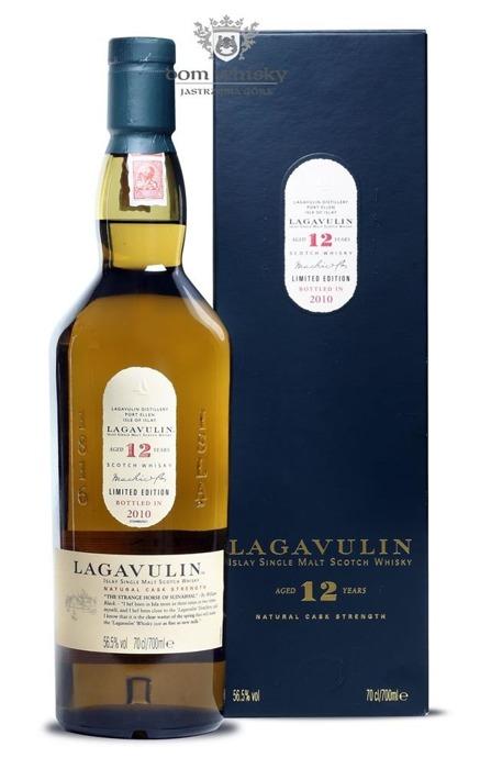 Lagavulin 12-letni Cask Strength, 2010 Release /56,5%/0,7l