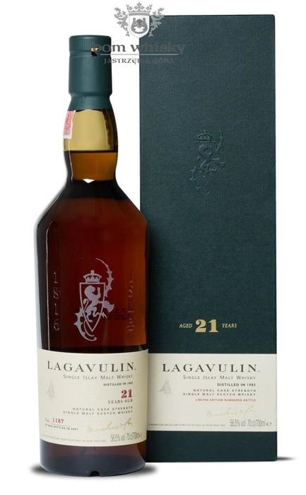 Lagavulin 21-letni D.1985 B.2007 / 56,5% / 0,7l