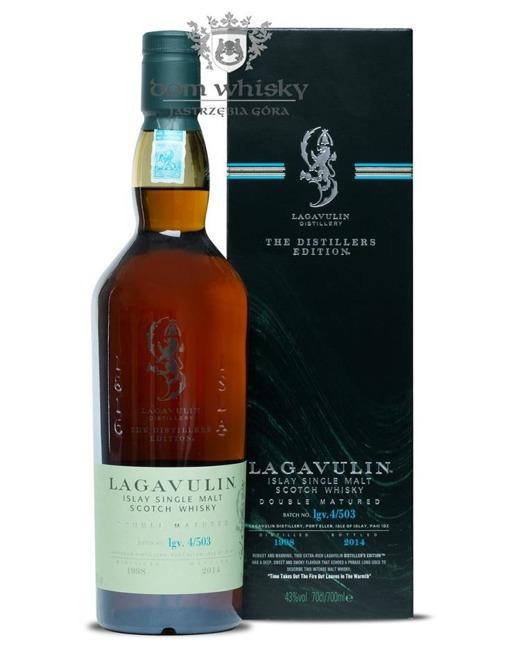 Lagavulin Double Matured D.1998 B.2014 / 43 % / 0,7l