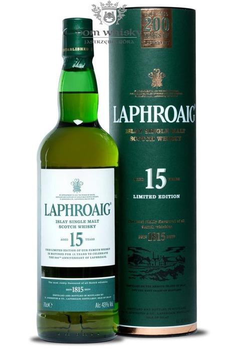 Laphroaig 15-letni, 200th Anniversary / 43% / 0,7l