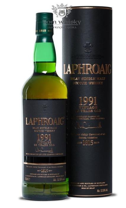 Laphroaig 1991 Vintage, 23-letni /52,6%/0,7l