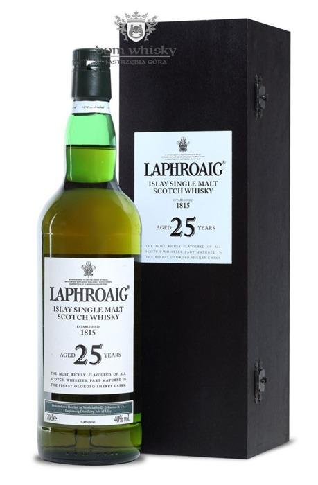 Laphroaig 25-letni (2007 Release) /40%/0,7l