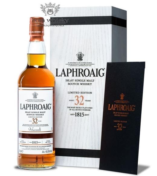 Laphroaig 32-letni (2015 Release) /46,6%/0,7l