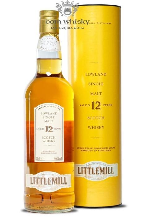 Littlemill 12 letni / 40% / 0,7l
