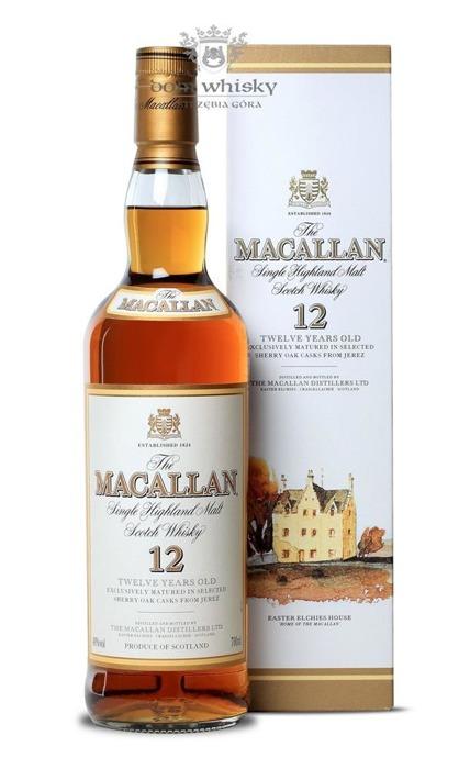 Macallan 12-letni (Matured in Sherry Casks) /40%/0,7l