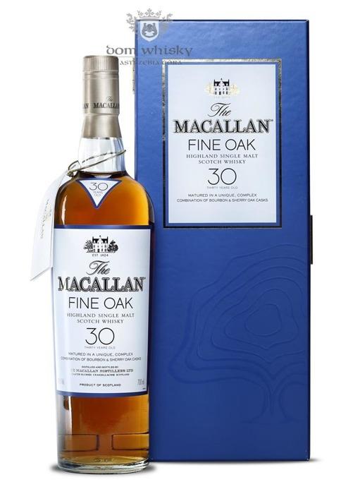 Macallan 30-letni Fine Oak Bourbon & Sherry Cask / 43% /0,7l