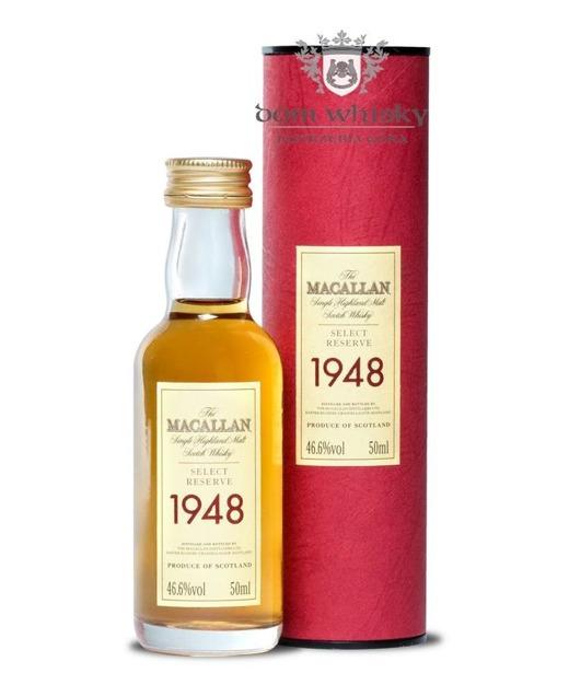 Macallan 51 letni D.1948 B.1999 Select Reserve / 46,6% / 0,05l