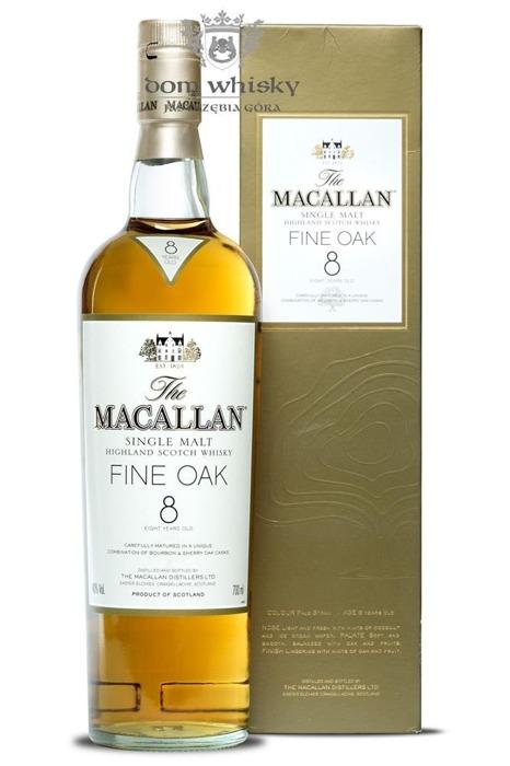 Macallan 8-letni Triple Oak (Bourbon & Sherry Casks) /40%/0,7l