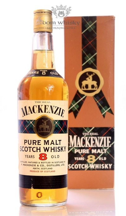 Mackenzie 8 letni Pure Malt / 43% / 0,75l