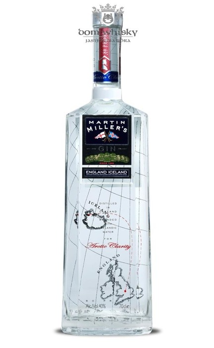 Martin Miller's Arctic Clarity Gin / 40% / 0,7l