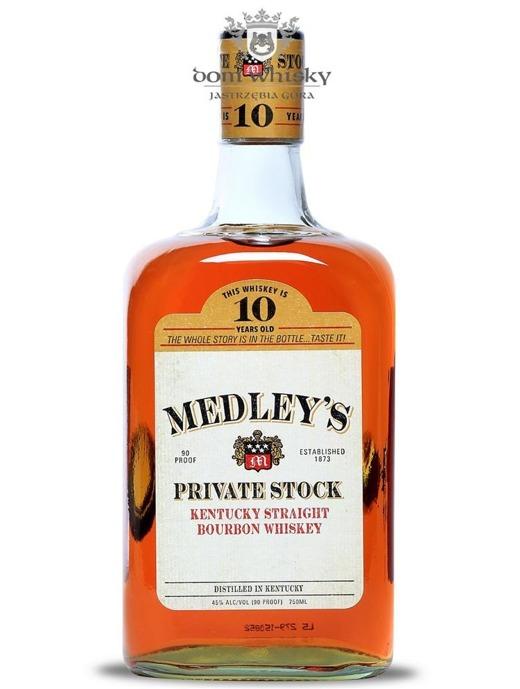 Medley's 10-letni Private Stock Bourbon Whiskey / 45% / 0,75l