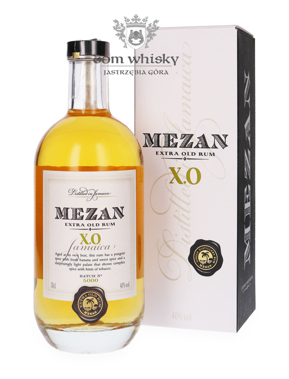 Mezan X.O Jamaica Rum + kartonik / 40% / 0,7l