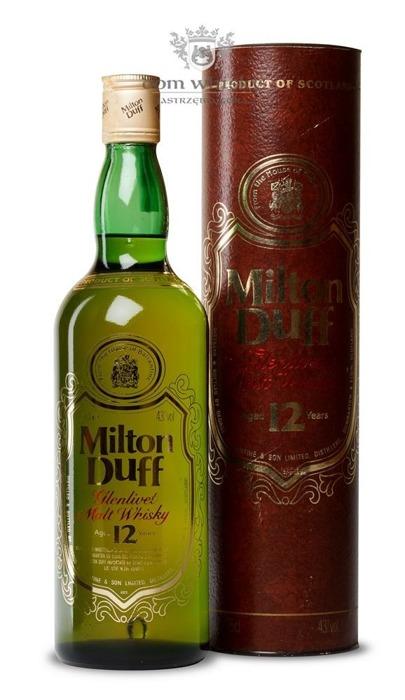 Miltonduff-Glenlivet 12-letni (Bottled 1980s) / 43%/ 0,75l