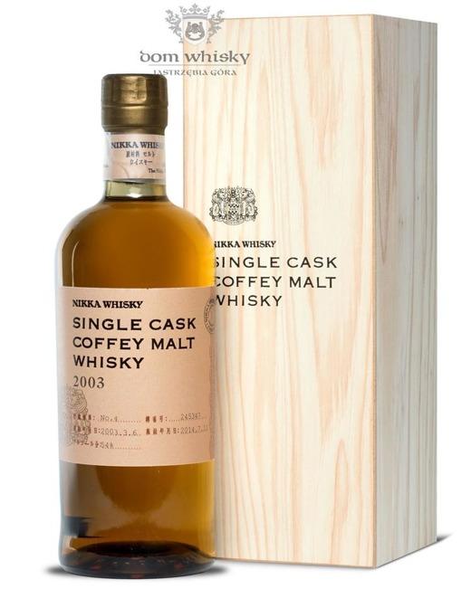 Nikka 2003 Single Cask Coffey Malt / 54% / 0,7l