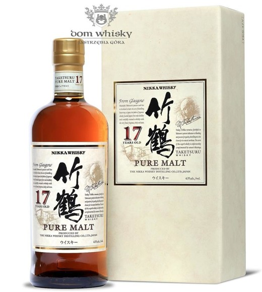 Nikka Taketsuru 17-letni Pure Malt / 43% / 0,7l