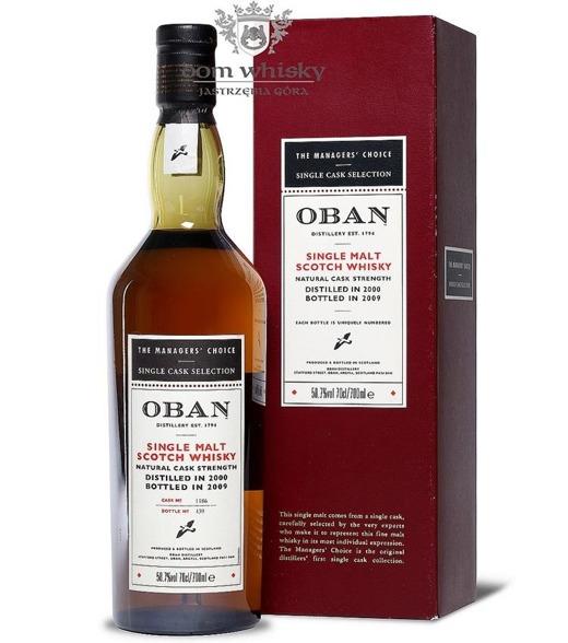 Oban 2000 (Bottled 2009) The Manager' Choice/ 58,7%/ 0,7l