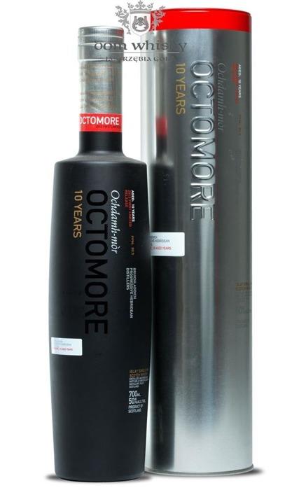Octomore 10-letni, Edition: 03.1 (80,5 ppm) / 50%/ 0,7l