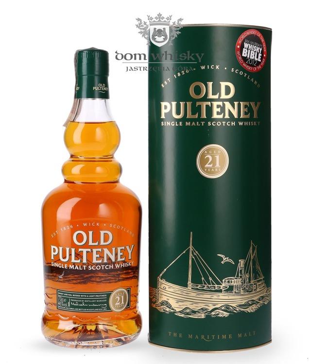 Old Pulteney 21-letni / 46% / 0,7l