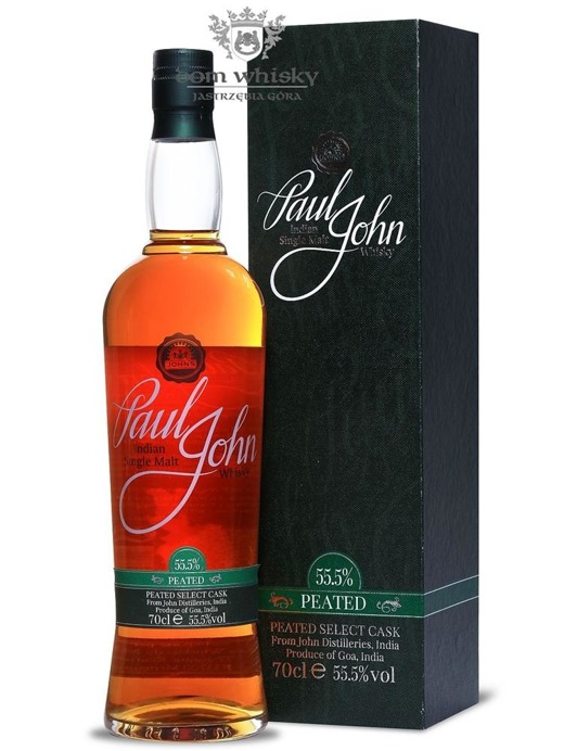 Paul John Peated Indian Single Malt / 55,5% / 0,7l