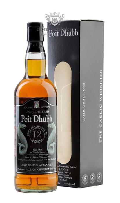 Poit Dhubh 12 letni Blended Malt Whisky / 43% / 0,7l