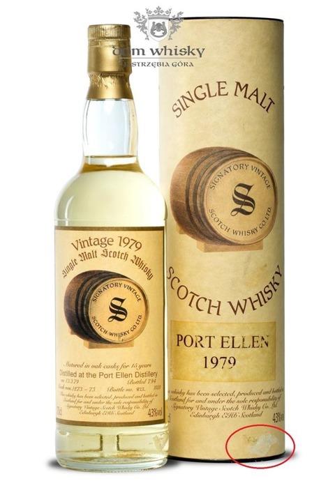 Port Ellen 15 letni D.1979 B.1994 Signatory Vintage / 43% / 0,7l