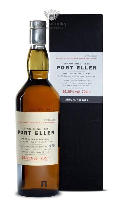 Port Ellen 24-letni D.1978 B.2002 2nd Release / 59,35% / 0,7l