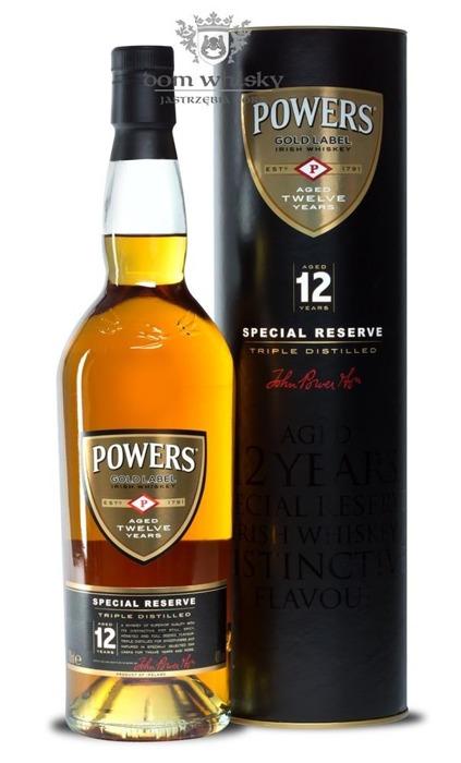 Powers 12 letni Special Reserve / 40% / 0,7l
