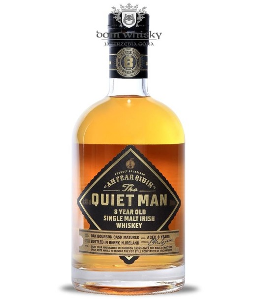 Quiet Man 8-letni Irish Single Malt / 40% / 0,7l