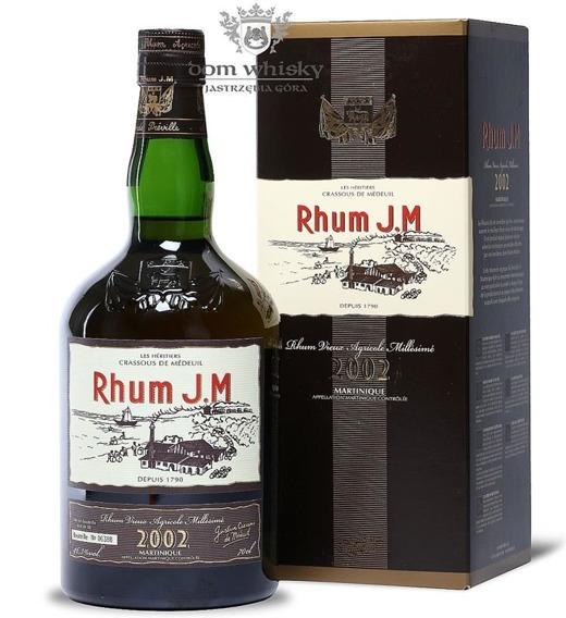 Rhum J.M 2002 (Martinique) / 46,3% / 0,7l