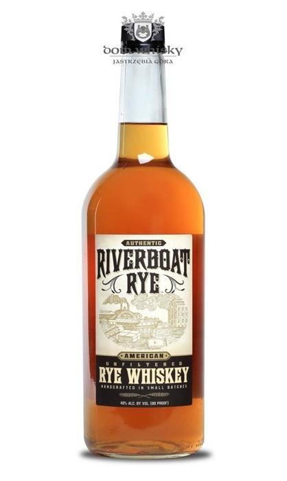 Riverboat Rye Whiskey / 40% / 1,0l
