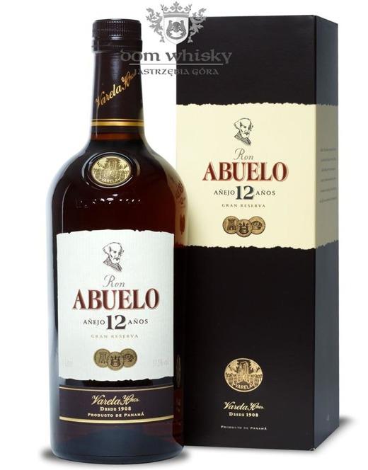 Ron Abuelo 12 letni Rum /Panama/ 37,5% / 1,0l