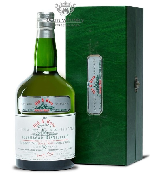 Royal Lochnagar 30 letni D.1972 B.2002 Old & Rare / 57,6% / 0,7l