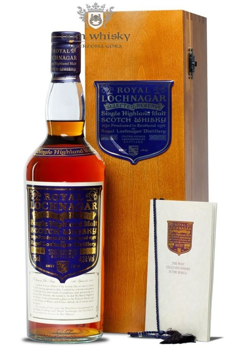 Royal Lochnagar Selected Reserve Limited Edition / 43% / 0,75l