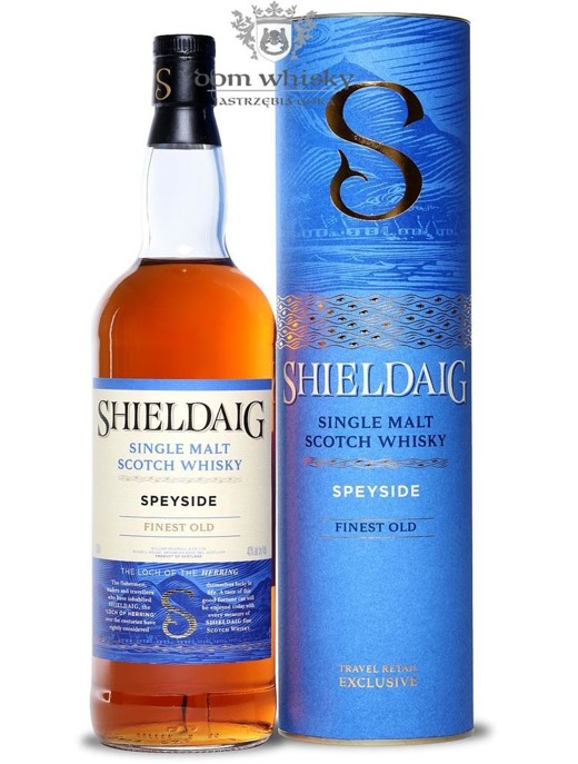 Shieldaig Speyside Single Malt Scotch Whisky / 40% / 1,0l