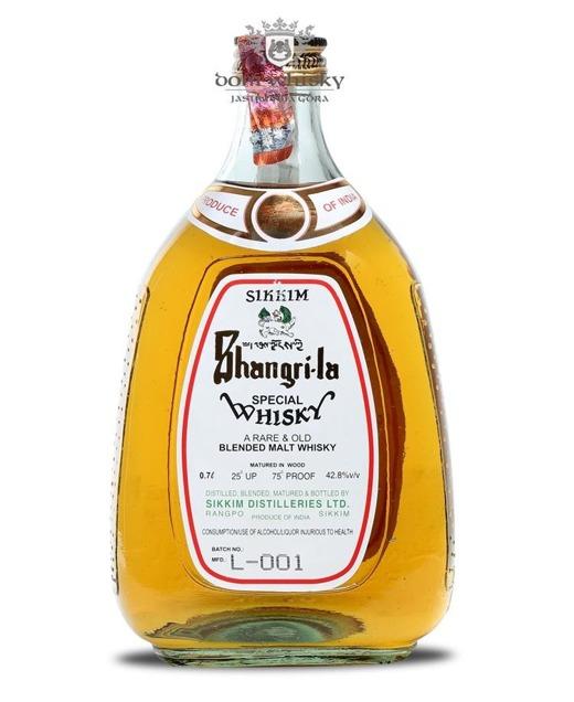 Sikkim Shangri-la Special Whisky (Indie) / 42,8% / 0,7l