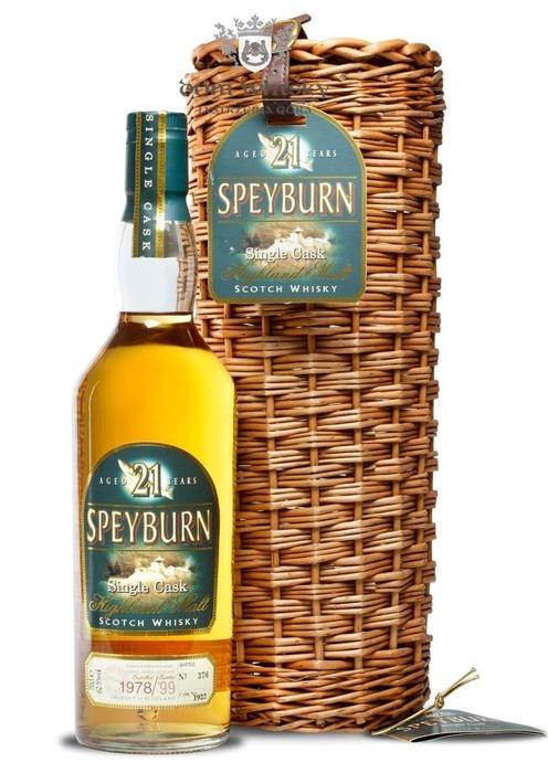 Speyburn 21 letni D.1978 B.1999 Nr Bottle 376 / 62,5% / 0,7 l
