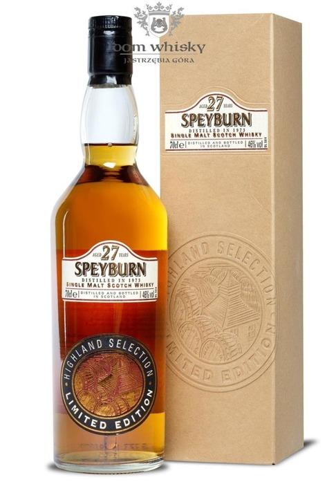 Speyburn 27-letni (D.1973), Highland Selection / 46% / 0,7l